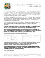 VFM Scholarship 2012