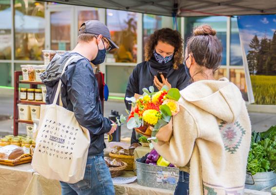 Farmers Market COVID-19 Safe Shopping